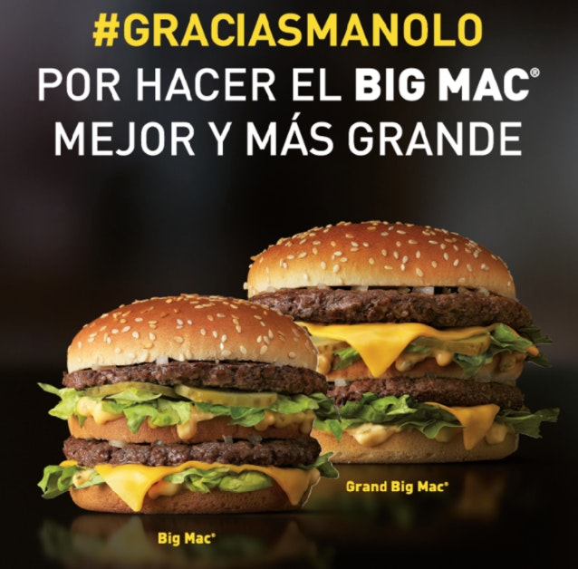 imagen de anuncio mcdonalds